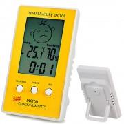Term�metro Higr�metro Rel�gio Digital DC106 CBR01062