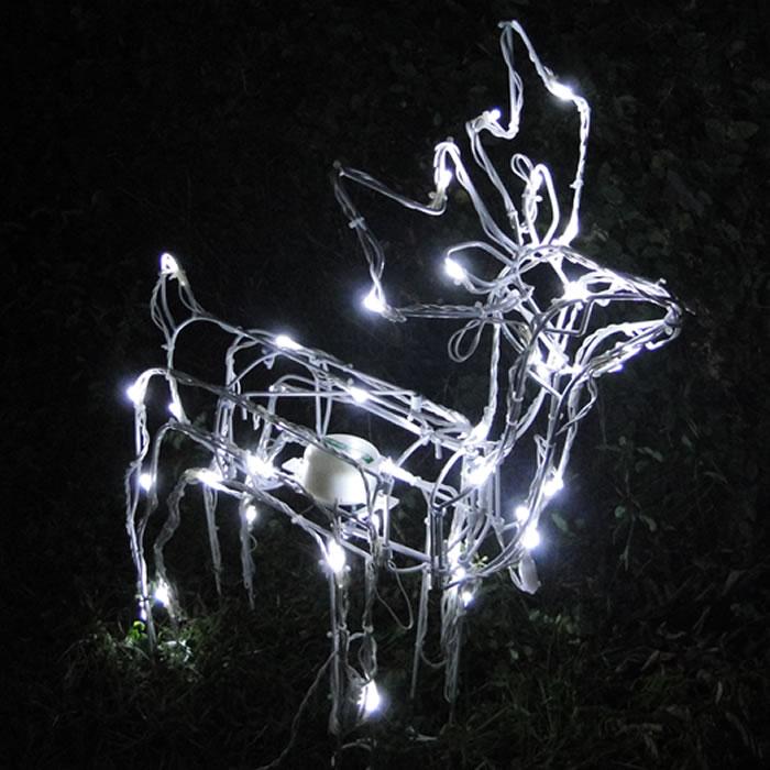 enfeites de natal para jardim iluminados: de natal Filhote 50 Leds Movimento 127v GL24LDMS-1 – Decoração Natal