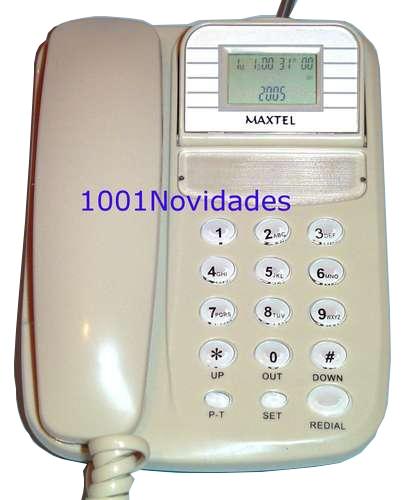 Telefone com Bina Identificador de Chamadas - Maxtel - KXT-4006CID