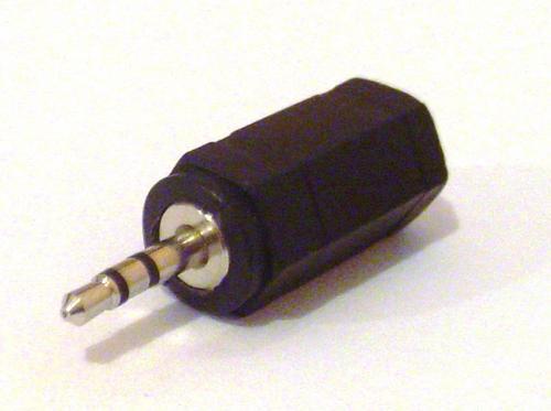 Adaptador Plug P1 / P2 para fone de ouvido Stereo