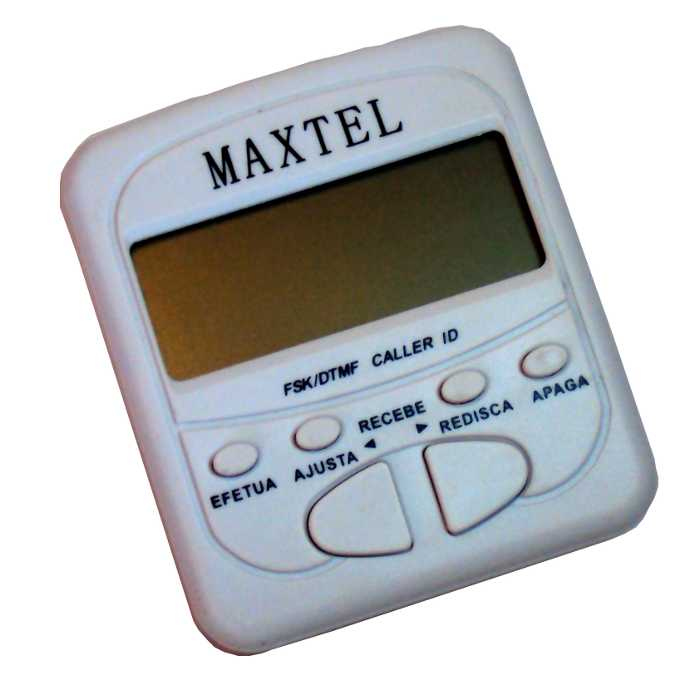 Identificador de Chamadas - Bina - DTMF/FSK - Maxtel - ZK20