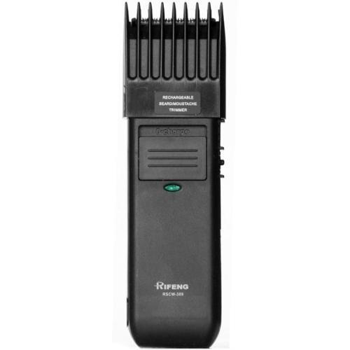 Aparador Recarregável para Barba, Cabelo e Bigode Bivolt (110V/220V) Rifeng RSCW-389A