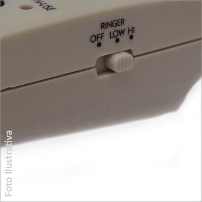 Telefone Headset com Headfone, Memória e Musica de Espera modelo Telemarketing Maxtel MT-108