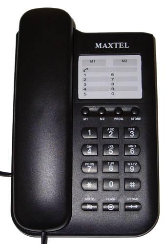 Telefone com Fio - Homologado pela Anatel - Maxtel - MT-3033