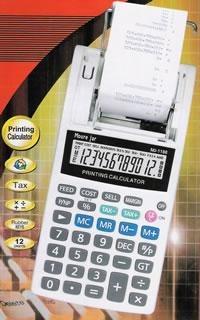 Calculadora de Mesa Display de 12 Dígitos com Impressão em Bobina - Moure Jar - MJ-1188