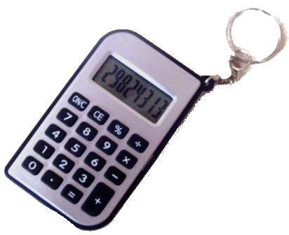 Calculadora de Bolso a Bateria - 8 Dígitos - Classe - CLA-6210