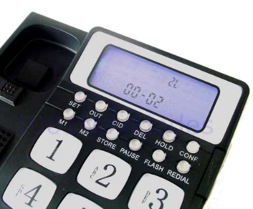 Telefone para 2 Linhas com Identificador de Chamadas e Viva-Voz - Maxtel - MT-928
