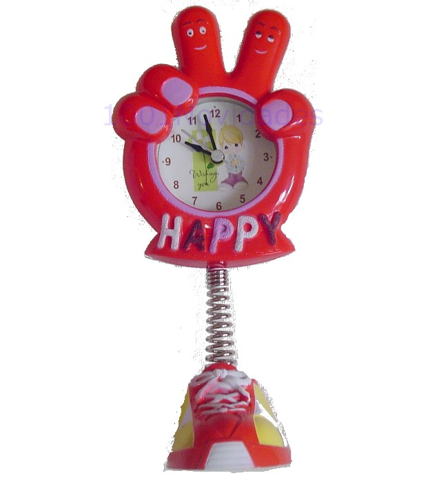 Relógio Infantil em Forma de Mão OK e Vitória