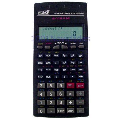 Calculadora Científica - Classe - CLA82TL