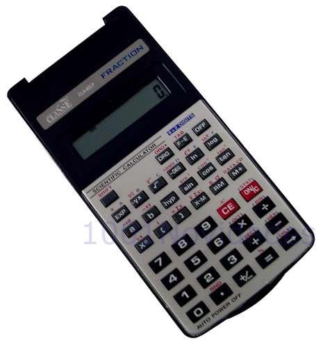 Calculadora Científica - Classe - CLA82LP