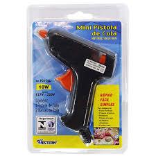 Pistola para Cola Quente Mini Bivolt 10W Western PQC-O10J