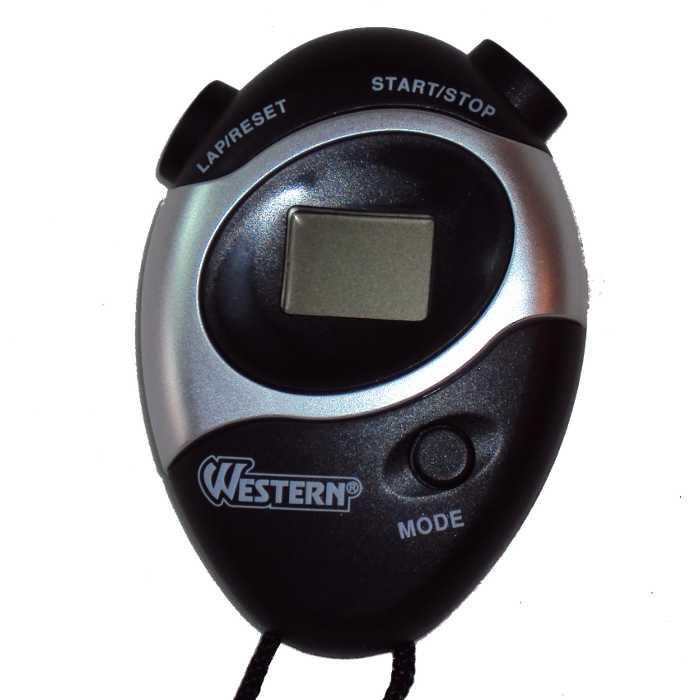 Cronômetro Progressivo Digital com Relógio e Alarme - Western - 1993