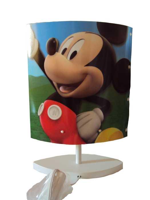 Abajour Oval do Mickey - A casa do Mickey Mouse da Disney - Bivolt - Startec - 110450006