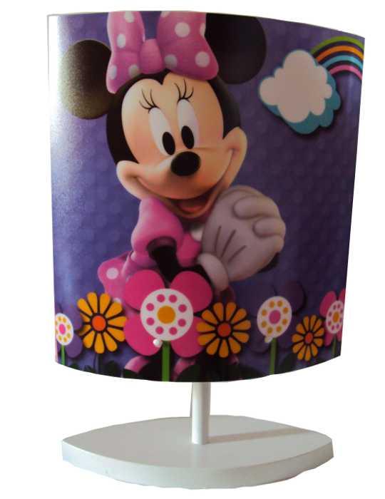 Abajour Oval da Minnie - A casa do Mickey Mouse da Disney - Bivolt - Startec - 26001150