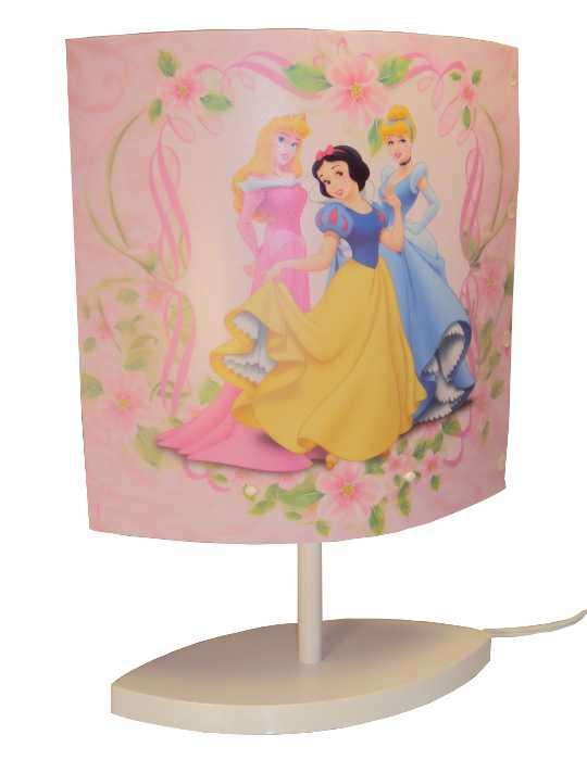 Abajour Oval das Princesas - As Princesas Disney - Bivolt - Startec - 26000901