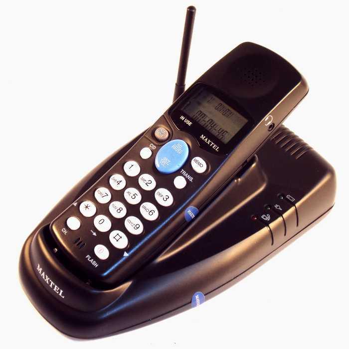 Telefone sem Fio com Identificador de Chamadas - Bina e Fone de Ouvido - Maxtel - SF-902