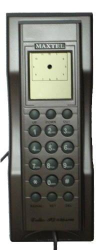 Telefone com Bina Identificador de Chamadas - Maxtel - KXT-2006CID