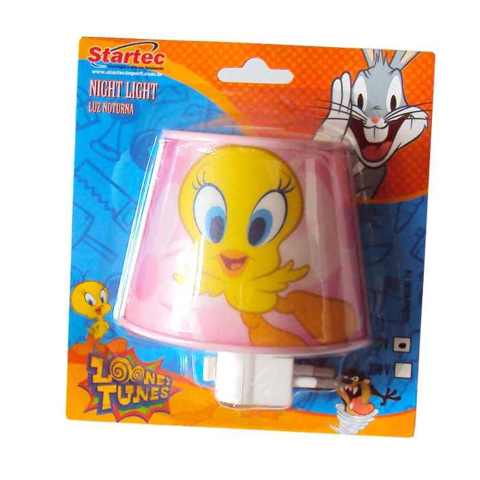 Kit de Iluminação para Quarto Infantil com 1 Pedente, 1 Abajour e 1 Mini Abajour - Looney Tunes - Startec - 26000090
