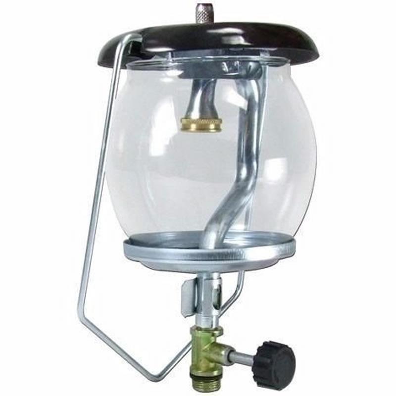 Lampião a Gás para Botijão de Gás de 2Kg com Camisa para Lampião - Rosca Fina - ROA