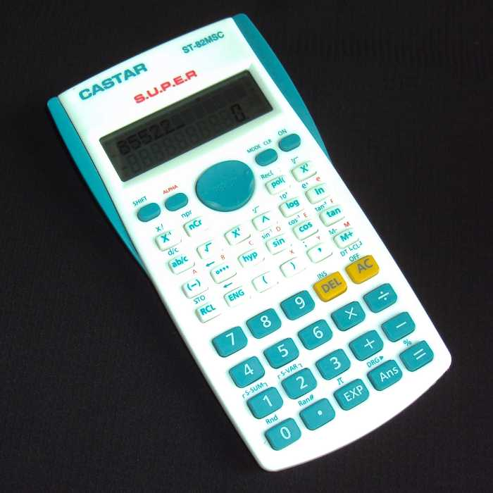 Calculadora Científica com Display de 2 Linhas - Castar - ST-82MSC