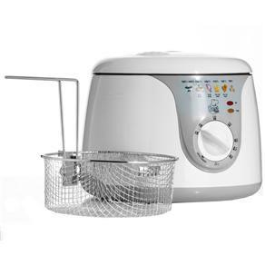 Fritadeira Elétrica Redonda 2 Litros - Best Cook - Conthey - 110V ou 220V