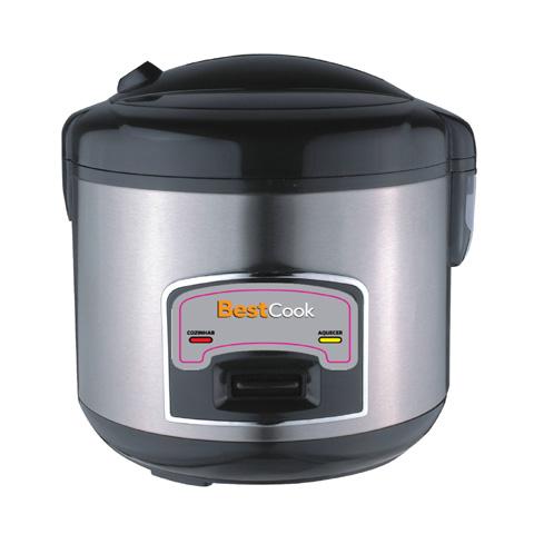 Panela Elétrica de Arroz 1,5L com Acabamento em Inox - Best Cook - Conthey - 110V ou 220V