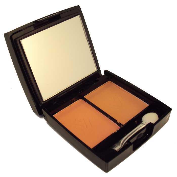 Conjunto Kit de Maquiagem com Blush e Sombra Estojo com Espelho e Pincéis - Ruby Rose - HB-218