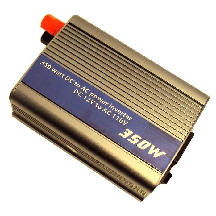 Inversor Transformador Conversor de 12V para 110V + 1 Porta USB 5V com 350W - YTT-DAC350