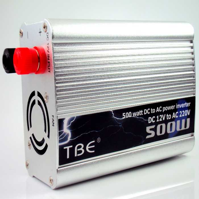 Inversor Transformador Conversor de 12V para 220V + 1 Porta USB 5V com 500W
