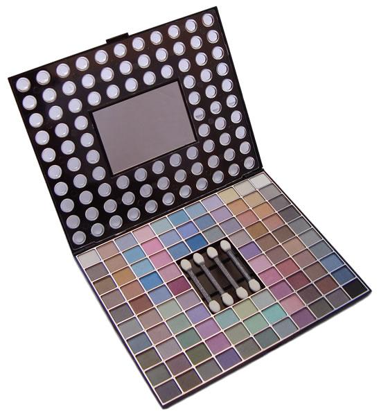 Kit Estojo de Maquiagem Com 98 Cores de Sombras - Jasmyne - V805