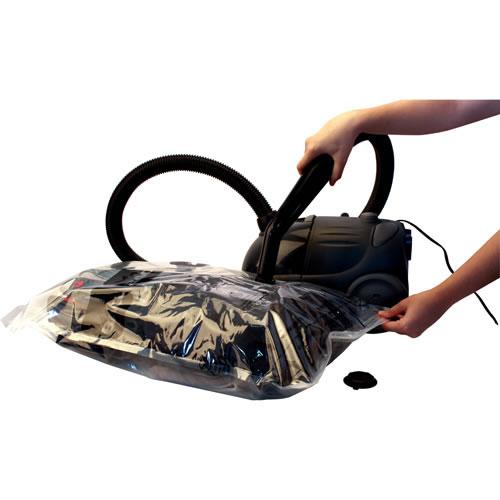 Saco a Vácuo para Roupas Vacuum Bag Tamanho Extra Jumbo 100x100cm com Valvula