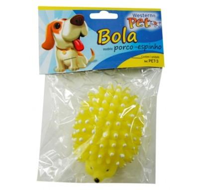 Brinquedo para Cachorro e Gato Mordedor Porco Espinho Western PET-3