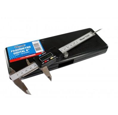 Paquímetro Digital 6´ 150mm em Aço Inox Media em Milímetro e Polegada Western DC-60
