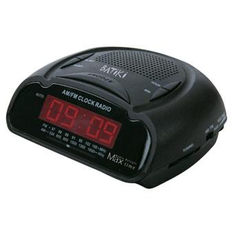 Rádio Relógio Despertador Digital Max Time Batiki CB147