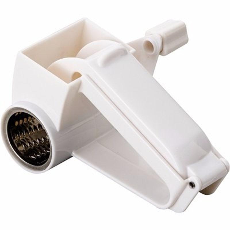 Ralador de Queijo Giratório Manual Com Lâminas em Aço Inox BS0153