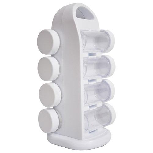 Porta Condimentos e Temperos Giratórios com 8 Potes H357