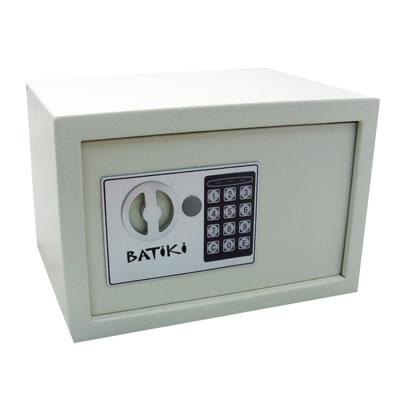 Cofre Eletrônico Digital Com Teclado Senha e Chave de Segurança Batiki KS20EW