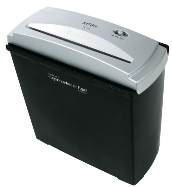 Fragmentadora De Papel Automática Para Até 5 Folhas 110V Trash Paper Batiki S056