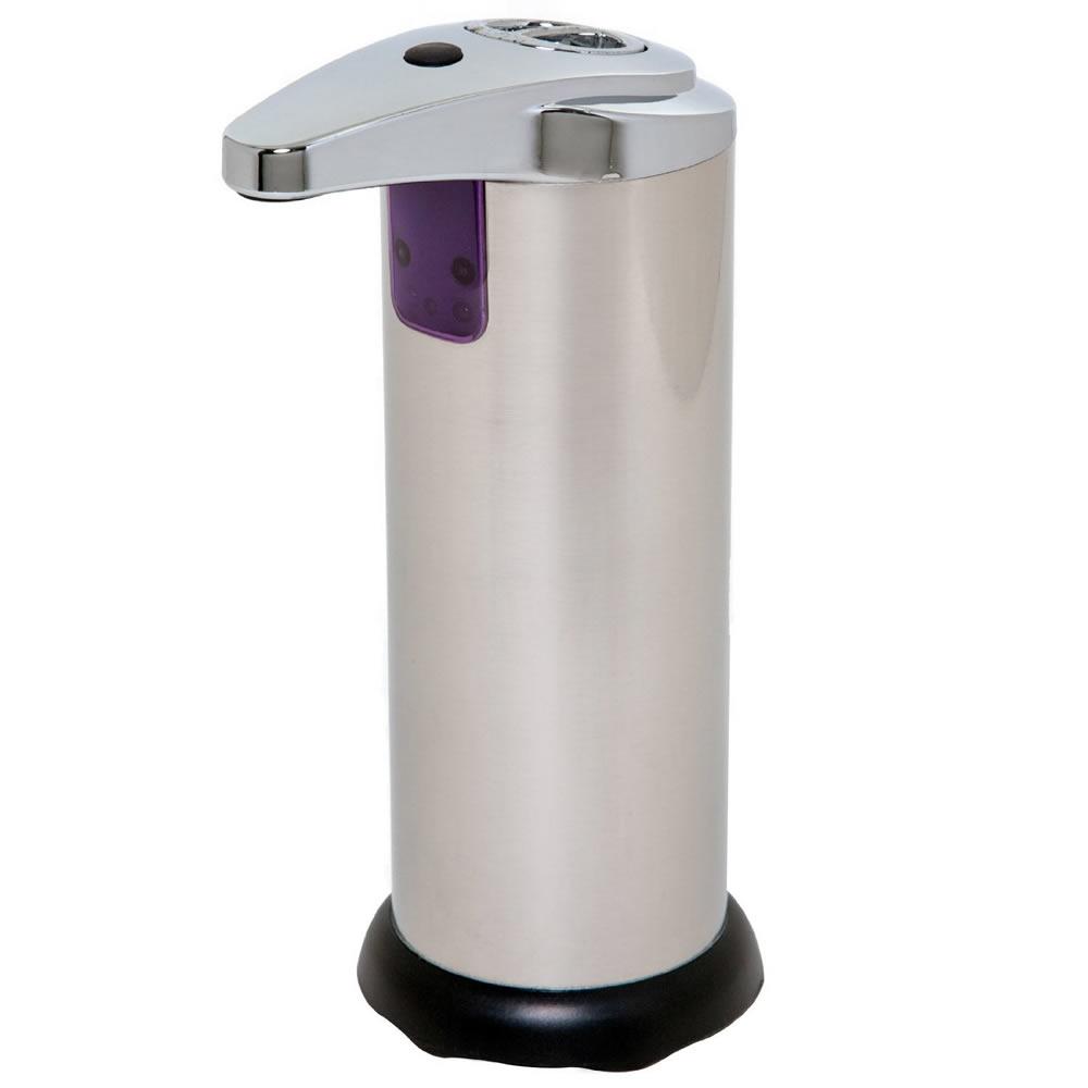 Saboneteira Automática Dispenser Para Sabonete Líquido Cromada com Sensor Infrared Uny Gift ZYX01E