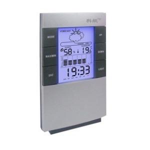 Relógio de Mesa Digital com Despertador e Previsão do Tempo e Luz 3210