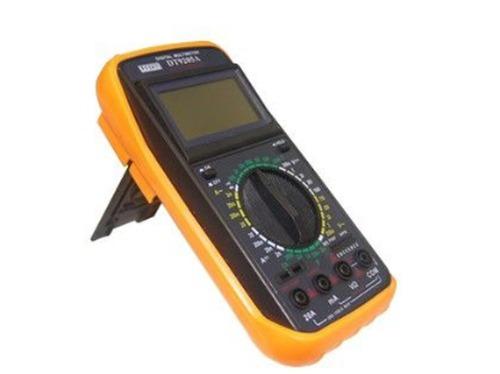 Multimetro Digital com Bip e Teste de Transistor e Diodo DT9205A