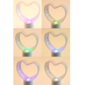 Ventilador sem Hélice USB de Mesa com Aromatizador de Ambiente Coração Iluminado com LED