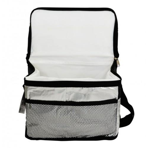 Bolsa Térmica 8 Litros Metalizada com Bolso Externo e Alça Wincy SCB0102