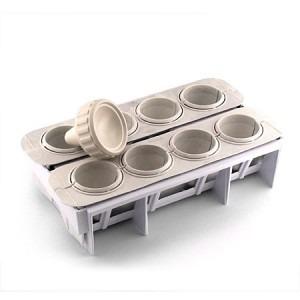 Forma Fábrica Coxinhas e Salgados Kit Modelador para Massa Lig Brin 0105