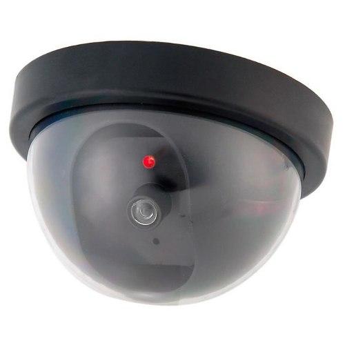 Câmera Falsa De Segurança Mini Dome Com Led Que Pisca 802
