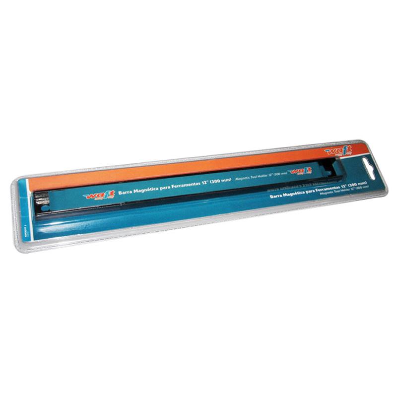 Barra Magnética Para Organizar Ferramentas com Imã 30cm Waft 6227