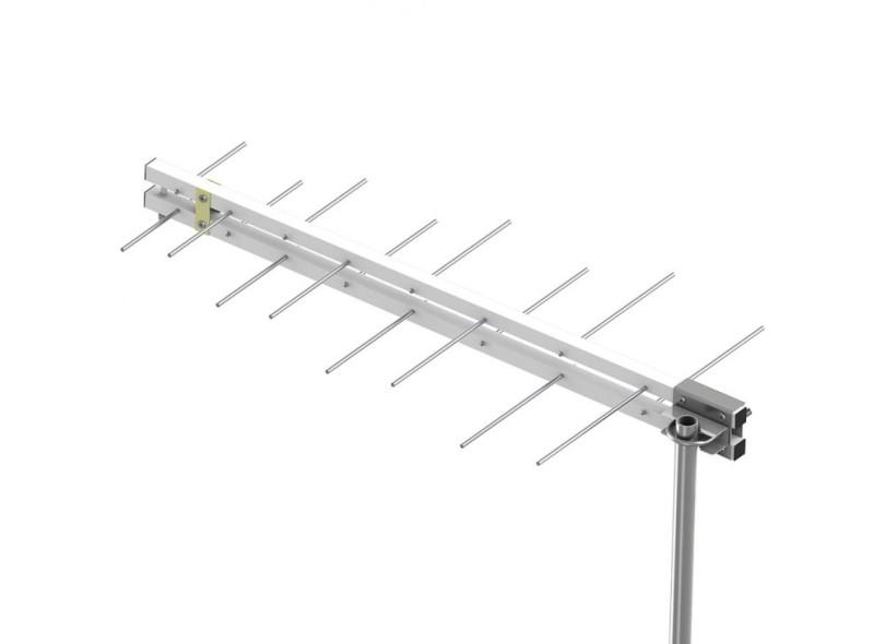 Antena UHF Digital HDTV Externa 16 Elementos Castelo M8016