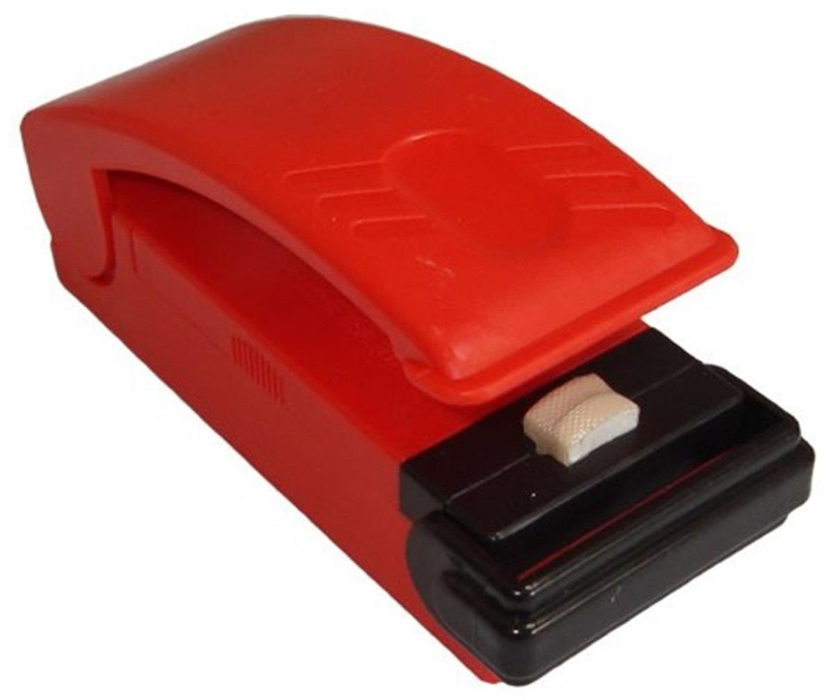 Mini Seladora De Embalagem Plástica Portátil A Pilha Monaliza MZ-36057