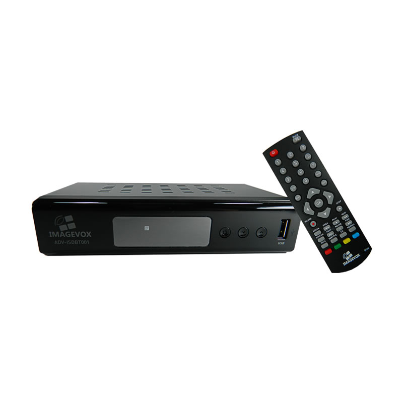 Receptor / Conversor de TV Digital HD com Gravador Imagevox ADV-ISBDT01