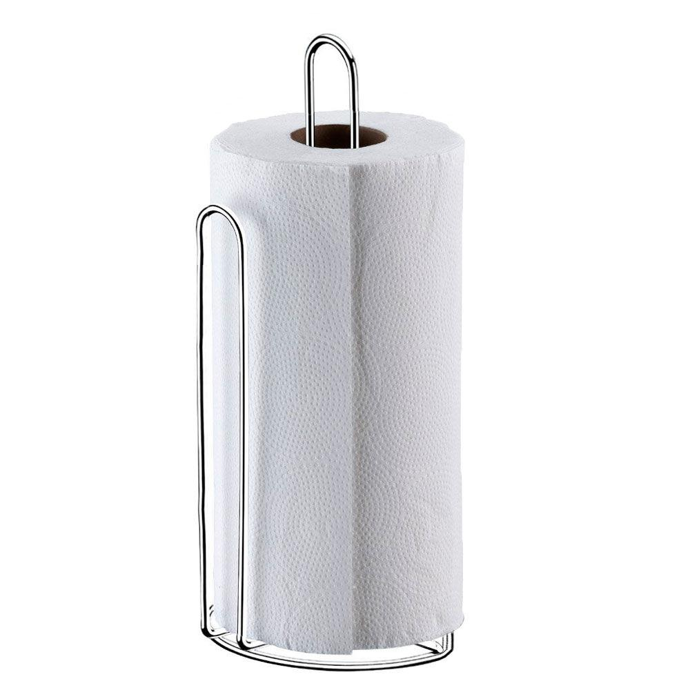 Suporte Porta Rolo De Papel Toalha Vertical Cromado Passerini 357-7